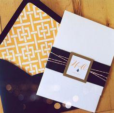 Custom Preppy Nautical Wedding Invitations by paperkrush on Etsy, $6.00 (orange and navy blue)
