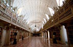 La bibliothèque du Palais de Mafra