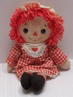 Image result for original raggedy ann