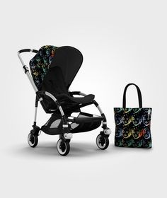 Bugaboo Bee Sun Canopy - Andy Warhol Flowers (Special Edition) by Bugaboo - Carritos para bebe Bugaboo Bee, Bugaboo Stroller, Baby Strollers, Bugaboo Donkey, Cool Baby Gadgets, Andy Warhol Banana, Prams And Pushchairs, Canvas Fabric, Cool Baby Stuff