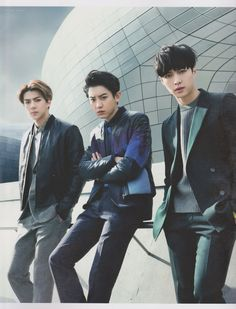 sehun, chanyeol, and yixing ♡ Park Chanyeol, Chanyeol Baekhyun, Btob, K Pop, 2ne1, Vixx, Kim Min Suk, Monsta X, Shinee
