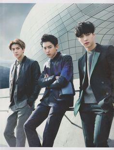Sehun, Chanyeol, Lay <3 | Exo