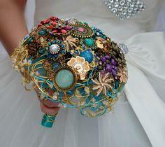 Brautsträuße La Versailles von wandadesign auf DaWanda.com