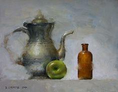Quarantine by David Cheifetz Oil ~ 8 x 10