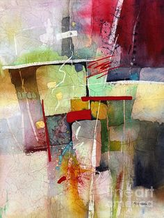 Original is a watercolor and the layering is sublime.