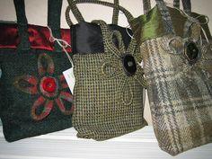 green tweed handbag - Google Search