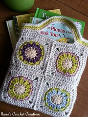 "Ravelry: Nana's ""Little Audrey"" Square pattern by Des Maunz"