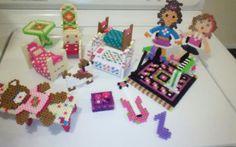 perler dolls and furniture