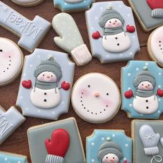 Trendy Ideas For Painting Christmas Cookies Decorating Ideas Cocoa Cookies, Easy Sugar Cookies, Galletas Cookies, Iced Cookies, Cute Cookies, Cupcake Cookies, Cookies Et Biscuits, Christmas Biscuits, Rustic Christmas