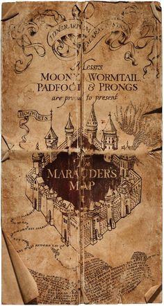 Marauder's Map - Harry Potter Wiki - Wikia