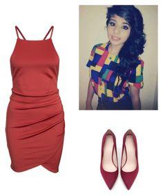 """#Dress 10"" by christiana-samuel on Polyvore featuring Zara"