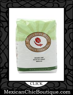 Mexican Coffee | Coffee | Cafe | Cafe Mexicano ♥ Decaf SWP Organic Mexican City Roast, Whole Bean Coffee, 5-Pound Bag $57.34