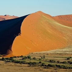 Photo of the week: Dune 45 in Sossusvlei is best visited from the 37 000-hectare Kulala Wilderness Reserve that borders the Namib-Naukluft Park.