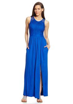 On ideeli: KERSH Lattice Stitch Maxi Dress