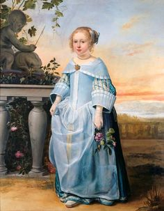 Nicolaas Wieringa, Portrait of a six-year-old Girl, 1656 - Leeuwarden, Fries Museum