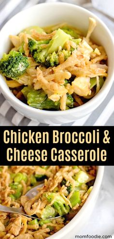 Chicken Broccoli & Cheese Casserole - Easy Casserole from leftover chicken. Chicken Broccoli & Cheese Casserole - Easy Casserole from leftover chicken. Broccoli Cheese Casserole Easy, Broccoli And Cheese Recipe, Chicken Broccoli Cheese, Leftover Chicken Recipes, Low Carb Chicken Recipes, Easy Casserole Recipes, Leftovers Recipes, Easy Dinner Recipes, Dinner Ideas