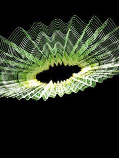 Loop Waveform Visualizer Generative Art, Weird Shapes, 2d Art, Infographic, Digital Art, Spirituality, Clouds, Glitch, Night Vision