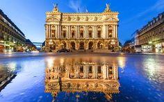 Scarica sfondi parigi, grand opera, palais garnier, francia