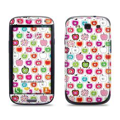 Samsung Galaxy S3 Phone Case Cover Decal - Apple Pattern. $9.95, via Etsy.