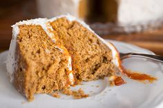 A Cozy Thanksgiving: Say Hello To My Little Friend, Spiced Pumpkin Velvet Cake