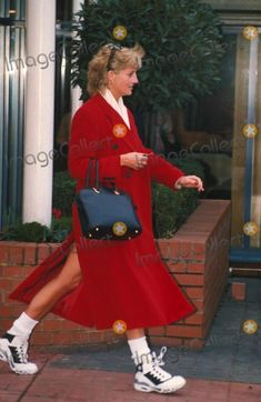 January 24, 1996: Diana, Princess of Wales at the Chelsea Harbour Club (gym). Photo By:dave Chancellor-alpha-Globe Photos, Inc