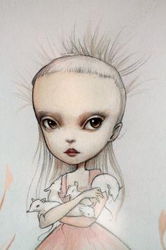 Mab Pop Surrealism, Art Model, Graphic Design Illustration, Illustration Art, Yolandi Visser, Die Antwoord, Creepy Art, Pop Art, Art Inspo