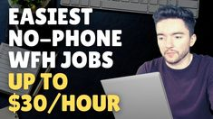 Easiest Non-Phone Work-From-Home Jobs Hiring October 2021 Up to $30/Hour Work From Home Careers, Video Notes, Jobs Hiring, Earn Money, October, Phone, Telephone, Earning Money, Mobile Phones