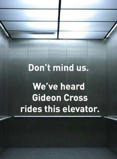 Gideon Cross…yes please!!!