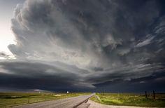 https://flic.kr/p/nUBScx | distant storm | As darkness falls in western Kansas.