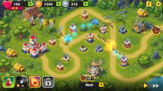 Toy Defense Fantasy TD Strategy Game on Behance