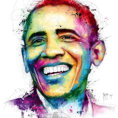 Barack Obama Patrice Murciano Self Portrait Art, Digital Portrait, Murciano Art, Patrice Murciano, Obama Portrait, Sculpture, Barack Obama, Cool Art, Awesome Art