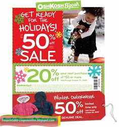 OshKosh B'gosh Coupons Ends of Coupon Promo Codes MAY 2020 ! and times holiday the incl. Mcdonalds Coupons, Pizza Coupons, Target Coupons, Print Coupons, Free Printable Coupons, Free Printables, Pizza Hut Coupon, Tide Coupons, Tide Detergent