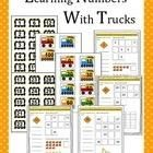 FREE Number Trucks! You can use this resource to work on 0-100 counting or counting by 10s.    Print out and laminate the truck and number sheets. Cut out each truck and...