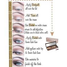 Brown Smokey Eye: Urban Decay NAKED 2 palette - Polyvore