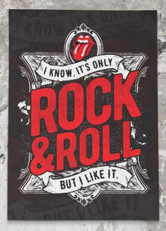 I know, it's only rock'n'roll… but I like it. And make sure to play it at my funeral for a send off!!