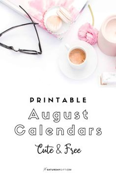Looking for a cute, free printable April 2020 calendar? Choose your favorite from the pretty calendar designs! August Calendar, Cute Calendar, 2021 Calendar, Print Calendar, Calendar Design, 2020 Calendar Template, Free Printable Calendar, Printable Planner, Free Printables