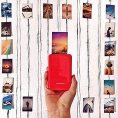 Gift ideas - Polaroid Mobile Photo Printer. gift ideas for grandparents. Grandparents Day.