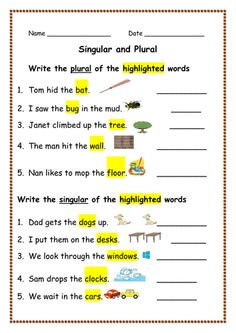 Pronouns Worksheet 1