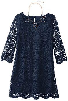 My Michelle Big Girls' Allover Lace Dress, Navy, 7 My Michelle http://www.amazon.com/dp/B00KWG42O2/ref=cm_sw_r_pi_dp_t-aaub0VJP6HJ