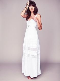 Free People Jill's Limited Edition White Story Dress- this will be my wedding dress one day