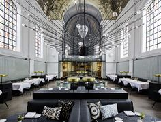 Image 1 of 33 from gallery of 2015 Restaurant & Bar Design Award Winners Announced. The Jane; Image Courtesy of The Restaurant & Bar Design Awards Jane Restaurant, Banquette Restaurant, Bar Restaurant Design, Deco Restaurant, Eclectic Restaurant, Luxury Restaurant, Restaurant Interiors, Restaurant Photos, Restaurant Lighting