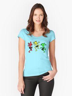 'Tango in Roma light colors' Tailliertes Rundhals-Shirt von Tanguero T Shirt Designs, Unisex, Design Mignon, Rick Y Morty, Vintage T-shirts, Vintage Hipster, Funny Vintage, Vintage Designs, Vintage Photos