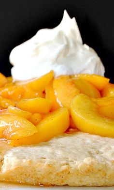 Peach Shortcake Recipe More