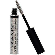 Ramy OMG! Over Mascara Glitter & Liner, Diamond Sparkle 0.21 oz (6 ml) (33 AUD) ❤ liked on Polyvore