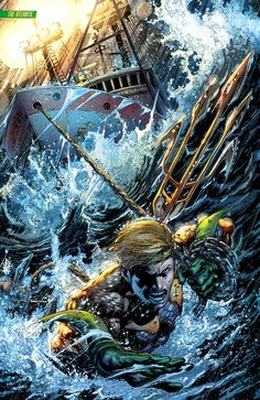 Aquaman by Ivan Reis Mais