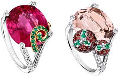 Very pretty works of art. Llan Valls Fine Jewelry choosing simply the best for investors.