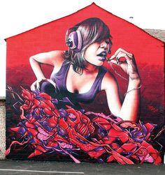 street art alice in wonderland - Google-søgning