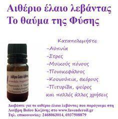 Δείτε 12 από τις θεραπευτικές ιδιότητες που έχει το αιθέριο έλαιο λεβάντα. Αϋπνία, στρες, μυϊκοί πόνοι, εγκαύματα, τσιμπήματα, πονοκέφαλοι, ακμή, ψωρίαση, σκόροι, αρωματικό, κρυολόγημα, βηχας…