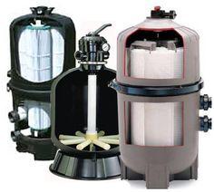 pool filter cutaways