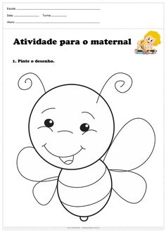 Nursery Worksheets, Tracing Worksheets, Preschool Worksheets, Preschool Writing, Free Preschool, Preschool Learning, Summer Crafts For Kids, Puzzles For Kids, Drawing For Kids
